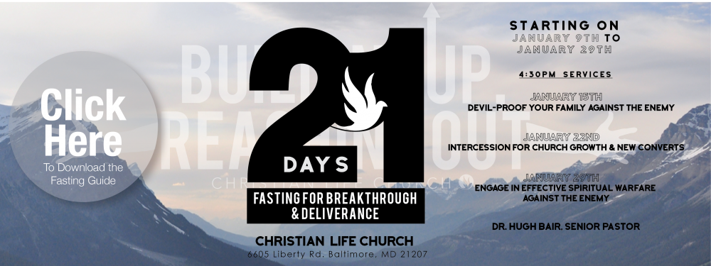 21 Day Fast 2017