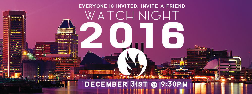 Watch Night Service 2016