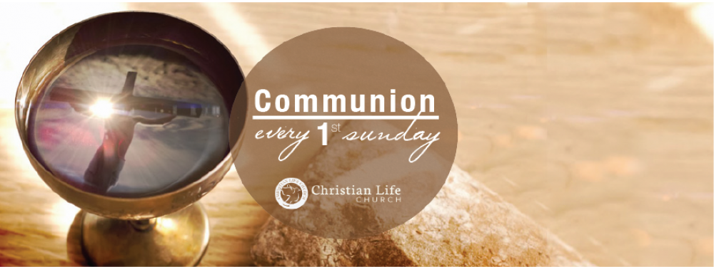 1st Sunday Communion