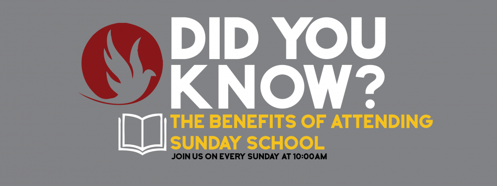 Did You Know? Sunday School