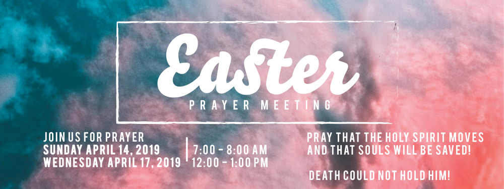Easter Prayer Service