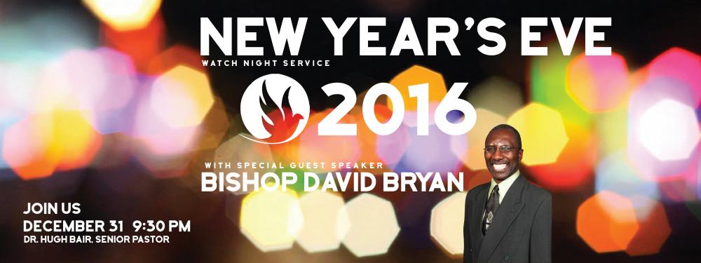 New Years Eve Watch Night Service