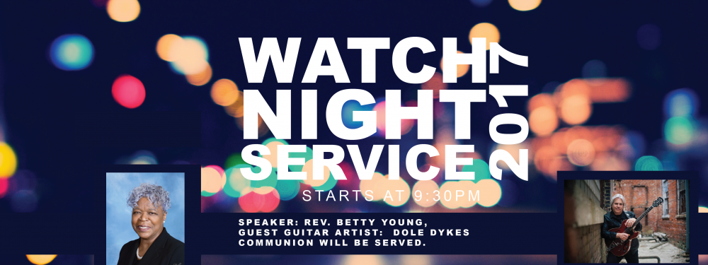 New Years Eve Watch Night Service