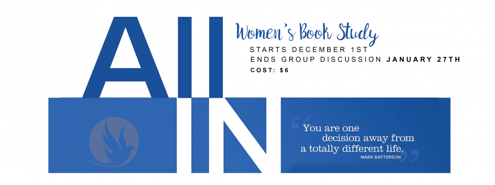 Women's Book Study: All In