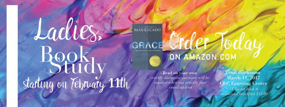 Women's Ministry Book Study - Grace