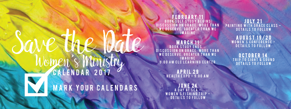 Womn's Ministry Save the Date 2017