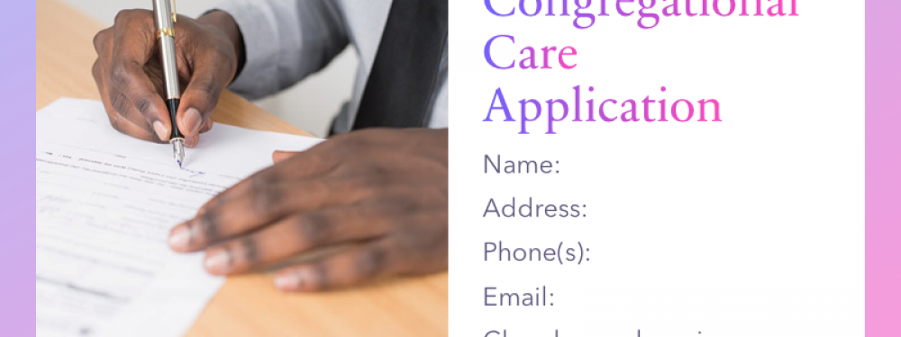 Congregational Care Application