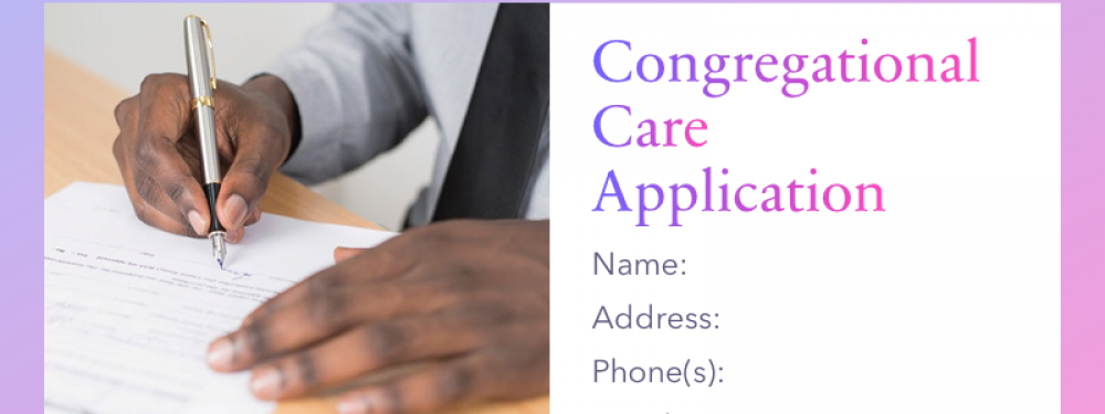 Congregational Care Application
